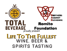 Total Beverage & The Romito Foundation - Life to the Fullest - Sept 14th, 2019